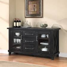 Buffet Tables And Sideboards by Furniture Elegant Black Sideboard Buffet With Four Drawers On