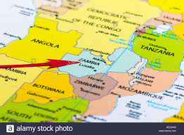 Map Of Zambia Zambia Map Stock Photos U0026 Zambia Map Stock Images Alamy