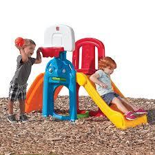 toddler indoor slide basketball activity center sports 3 in 1 kid