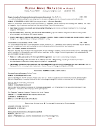 Sample Hr Executive Resume by Executive Hr Resume Hashdoc