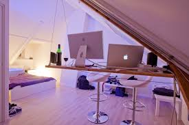 Bedroom Setup Ideas Minimalist Design Student Bedroom Setup Workstation In Attic Space