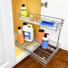 kitchen sink cabinet caddy sink cabinet organizer target