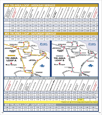Seatac Map Jefferson Transit 6 Tri Area Loop Route Schedule