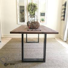 rustic modern dining room diy rustic modern dining table shanty 2 chic