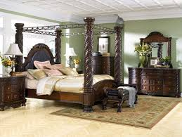 Elegant Bedroom Furniture by Bring Romance To Your Private Room With Solid Wood Canopy Beds