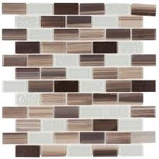 Glass Copper Backsplash Subway Tile X Mineral Tiles - Copper backsplash