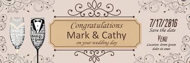 congratulations wedding banner wedding banners archives vinyl banner printing