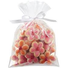 treat bags wilton 6 x9 drawstring treat bags clear 6 ct 1912 0915