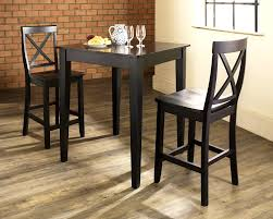 pub tables and chairs for rustic dining room decor in rustic home