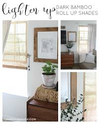 Burnt Bamboo Roll Up Blinds by Hdb Casting Clanagnew Decoration