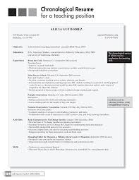 Chronological Resume Examples by Chronological Order Resume Free Resume Example And Writing Download