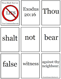 ten commandment coloring pages church house collection blog