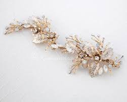 bridal hair clip wedding hair clip wedding hair pieces by lynne