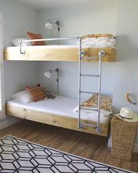 Bunk Bed With Cot Shared Kids Rooms Making A Multiple Bed Layout Work Apartment
