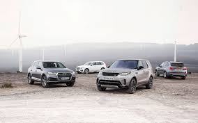 lexus vs bmw suv land rover discovery vs audi q7 vs bmw x5 vs volvo xc90 comparison