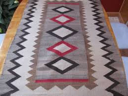 Wool Indian Rugs Antique 1926 Native American Navajo Wool Indian Rug Blanket