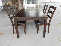 Wood Dining Room Table Sets Furniture Sweet Innovative Solid Wood Dining Table Bench Awesome