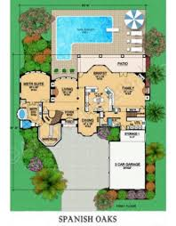 first floor in spanish spanish oaks residential house plans luxury house plans