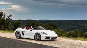 white porsche boxster 2017 porsche 718 boxster here u0027s what the four cylinder boxster is
