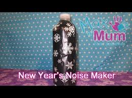 new years noise makers how to make a new years noise maker