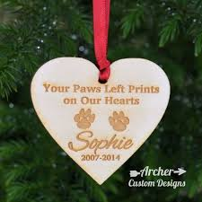 wooden ornament pet memorial