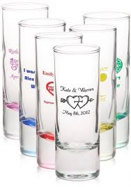 cheap personalized glasses wedding favors wedding magazine