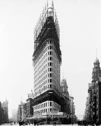 new york flatiron building 285 feet 86 9 m 22 floors 1902