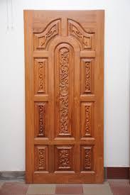 main doors furniture teak wood main door padaiyappa flower model at rs 20000