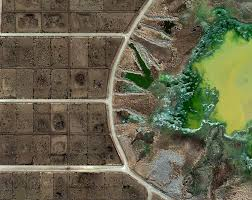 Aerial Map Of Chicago by Mishka Henner U0027s Photos Of American Feedlots Business Insider