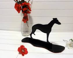 whippet statue etsy