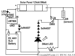 Led Solar Lamp Picture More Detailed Picture About 24 Solar To 6v Batt To Led Emergency Light Circuit U2013 Circuits Diy