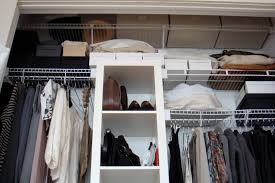 clothes closet before after