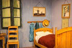 la chambre à coucher de gogh chambre à coucher dans l exposition de frida kahlo museums