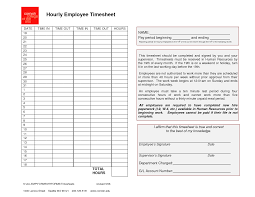 employee timesheet template generic hourly employee timesheet