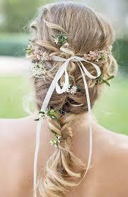coiffure mariage boheme daniel chavey 60 coiffures de mariage tresse repérées pour vous