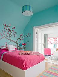 18 adorable rooms blue wall colors pink bed and blue rooms