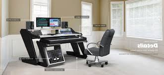 Studio Desks Workstations by Desk Music Production Desk With Regard To Breathtaking Hand
