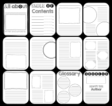 all about writing paper nonfiction book template for kids to create their own sometimes as a teacher it can be overwhelming to plan a research based writing project we know that gathering research taking notes and