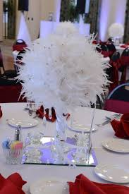 another view of center pieces best 25 feather wedding centerpieces ideas on great