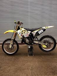 suzuki motocross bike suzuki rm 125 dirt bike mx 2 stroke in coldstream scottish