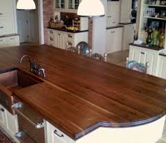 wood top kitchen island 19 best countertops images on walnut countertop