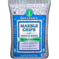 shop greensmix 0 5 cu ft marble chip at lowes com