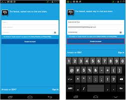 membuat akun gmail bbm cara daftar bbm di android terbaru dengan gambar