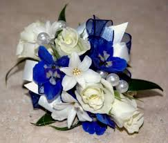 corsage flowers something blue wrist corsage norwood ma florist