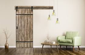 Closing The Barn Door by Authentic Barn Door With Easy Glide Soft Close Renin