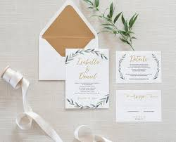 simple wedding invitations 22 simple wedding invitations for any season the overwhelmed