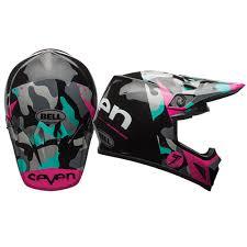 womens motocross gear packages bell mx 9 seven soldier w mips womens motocross helmets motocross