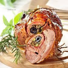 recette de cuisine provencale photo culinaire epaule d agneau farcie à la provençale cooklook