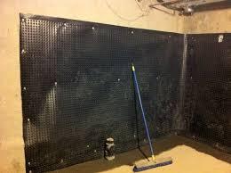 Basement Waterproofing Methods backyard wet basement toronto foundation waterproofing nusite