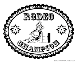 clip art barrel racing coloring pages mycoloring free printable